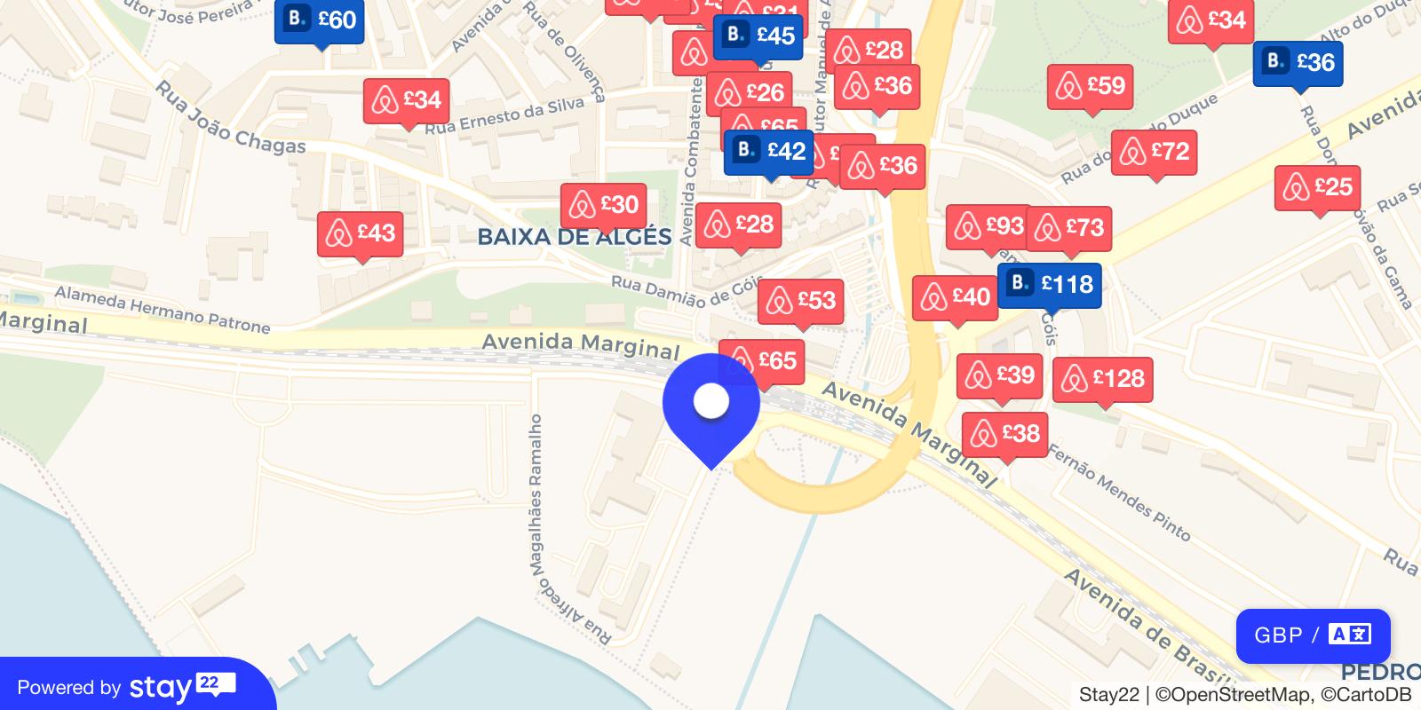 Places to stay near Passeio Maritimo de Alges