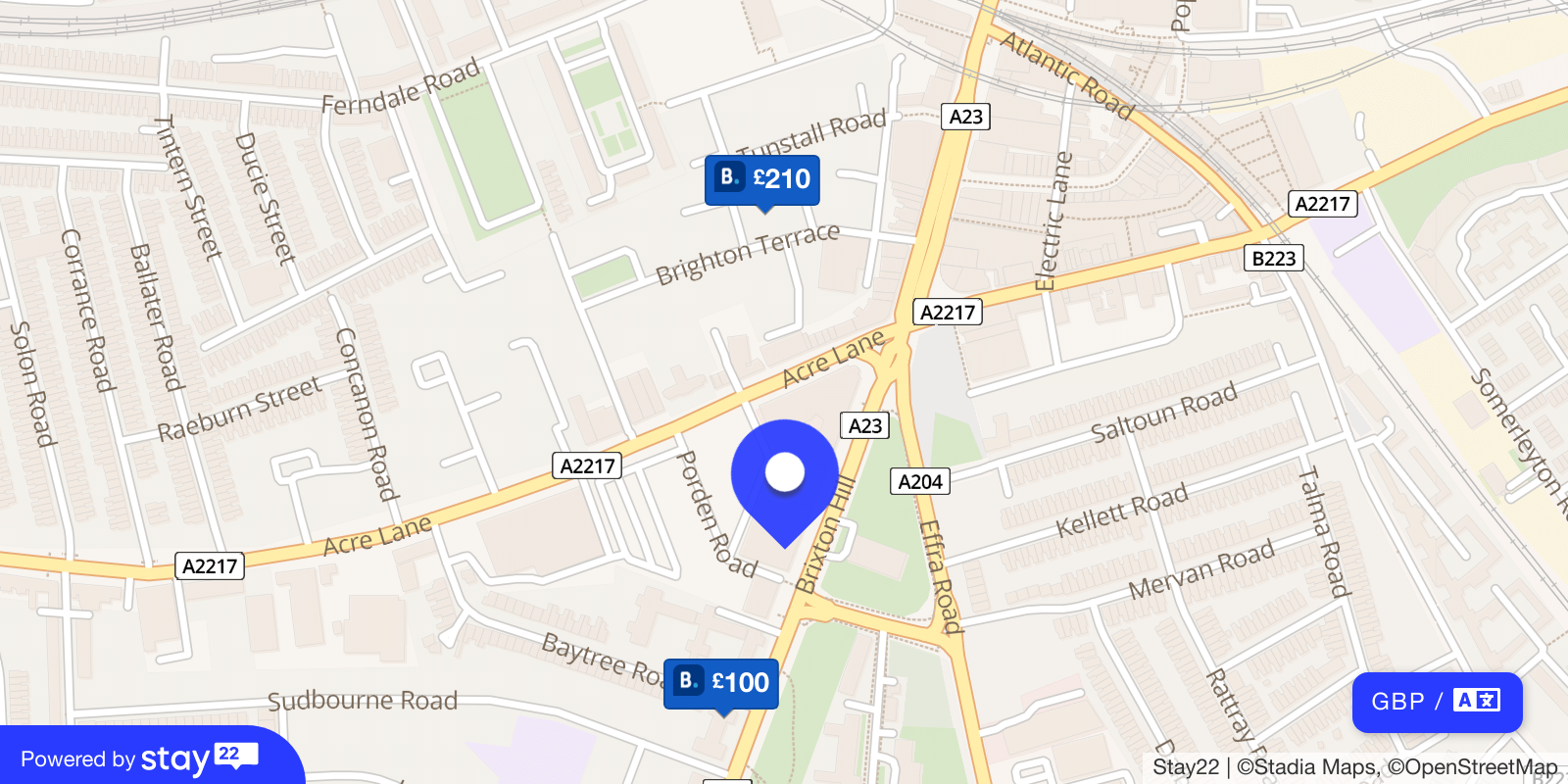 Places to stay near Electric Brixton