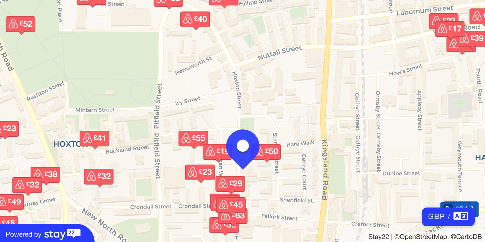 Places to stay near Hoxton Hall Theatre