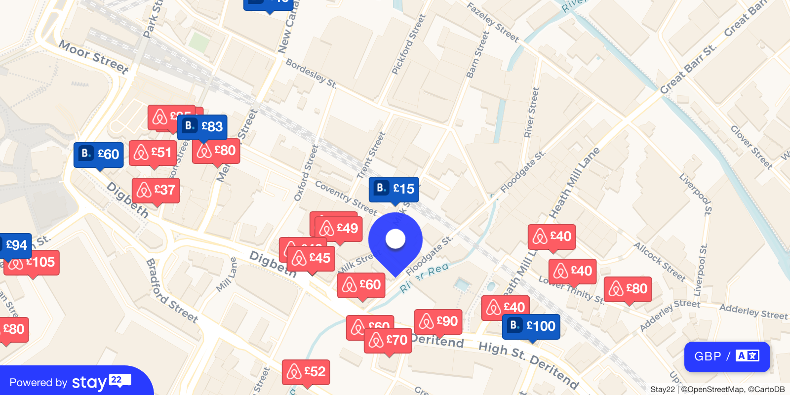 Places to stay near The Crossing
