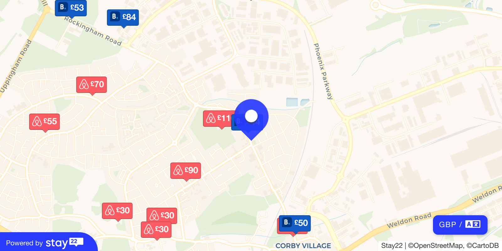Places to stay near null
