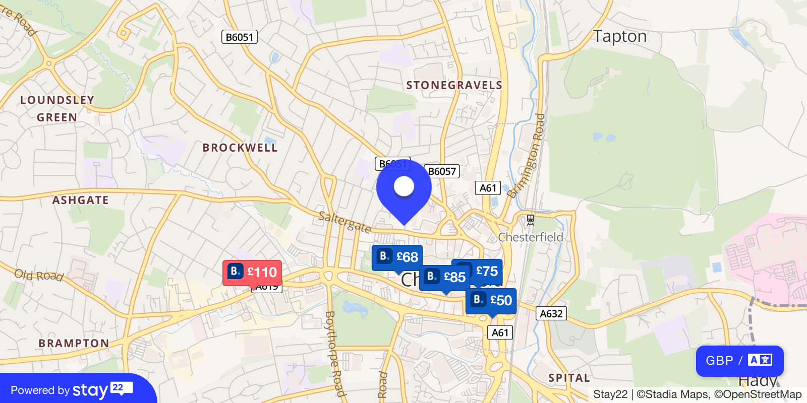 Places to stay near Real Time Live
