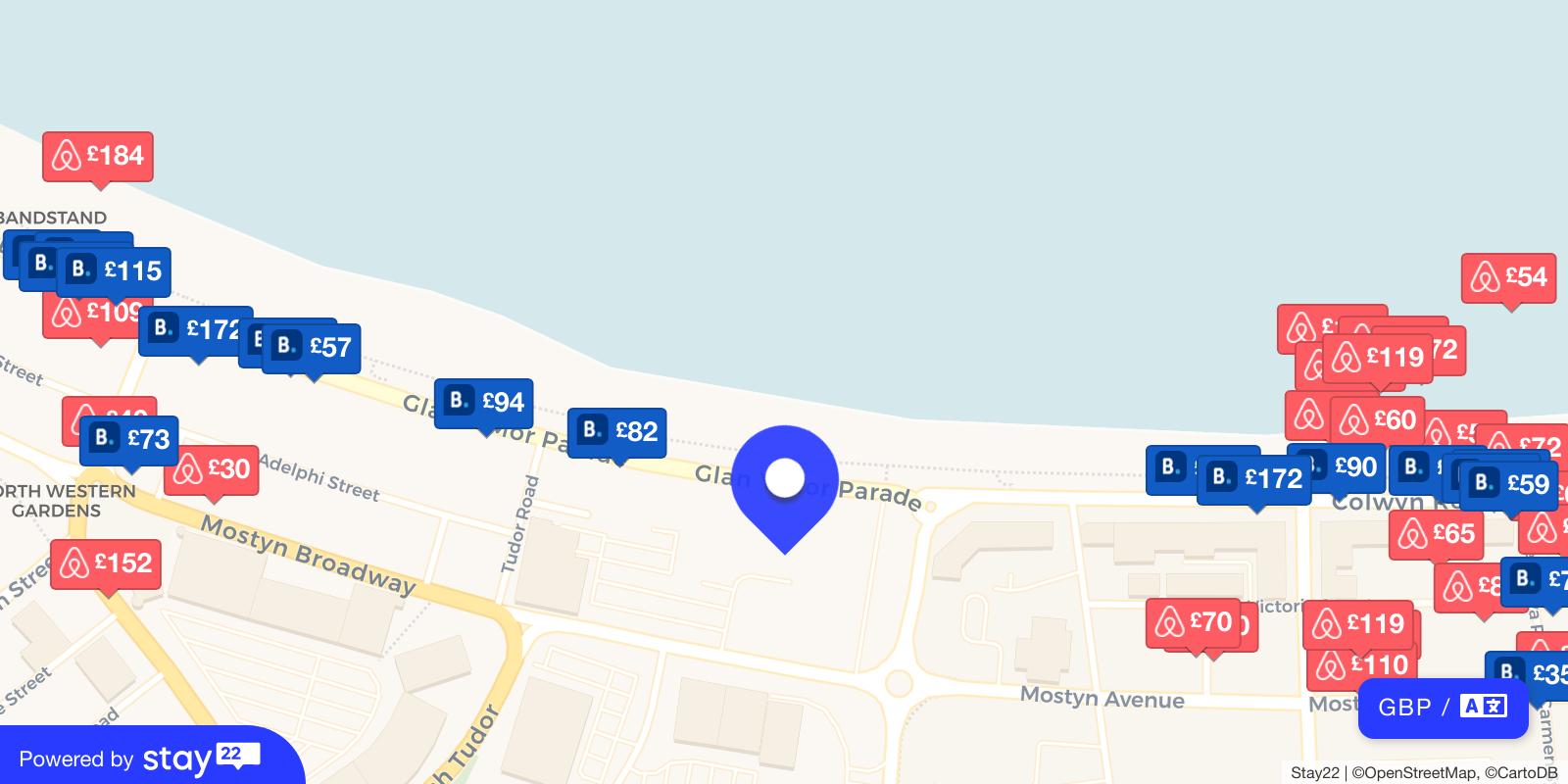 Places to stay near Venue Cymru