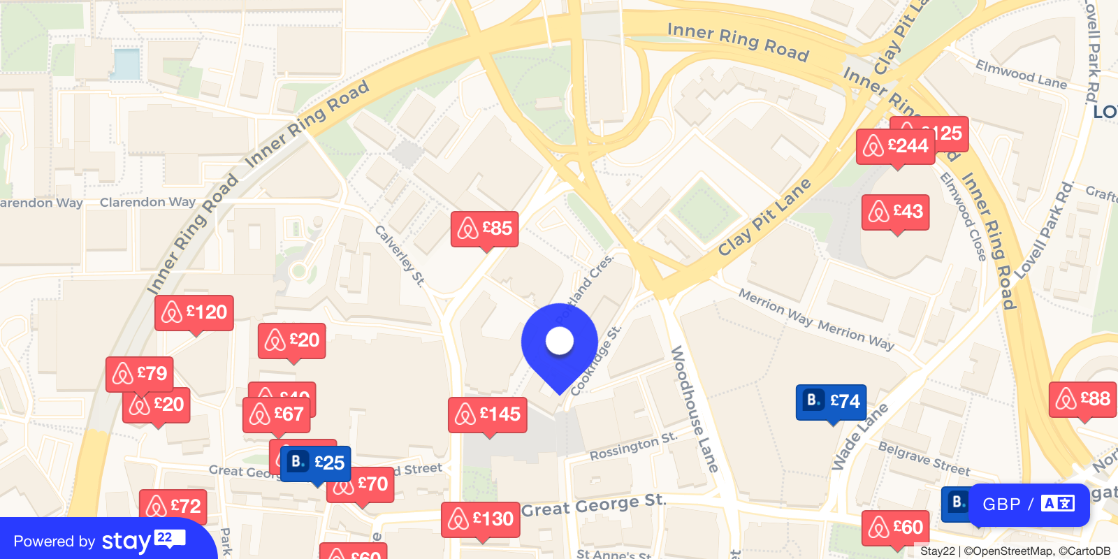 Places to stay near O2 Academy Leeds