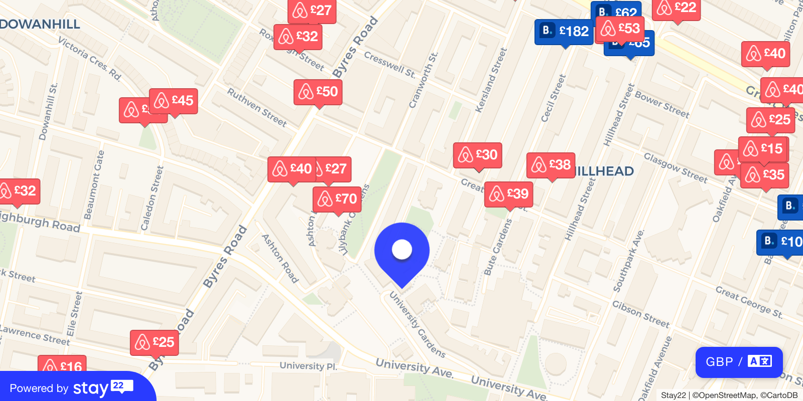 Places to stay near Queen Margaret Union